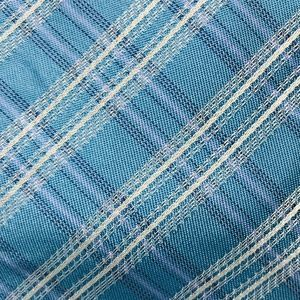Calvin Klein Men's Blue Plaid Pattern